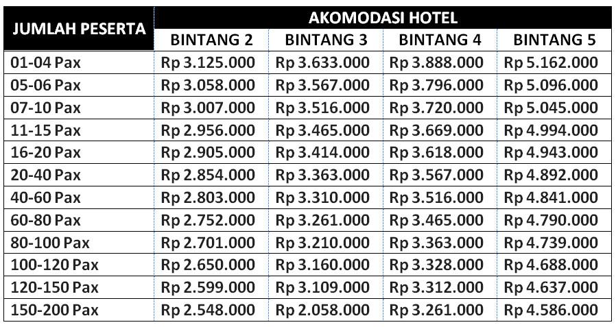 Paket Tour Lombok 6 Hari 5 Malam Tour 6H5M B 768x462